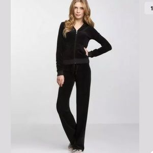 Juicy Couture Puff Puff Velour hoodie pants set
